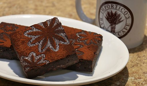 Importico's Bakery Cafe Zucchini Brownie